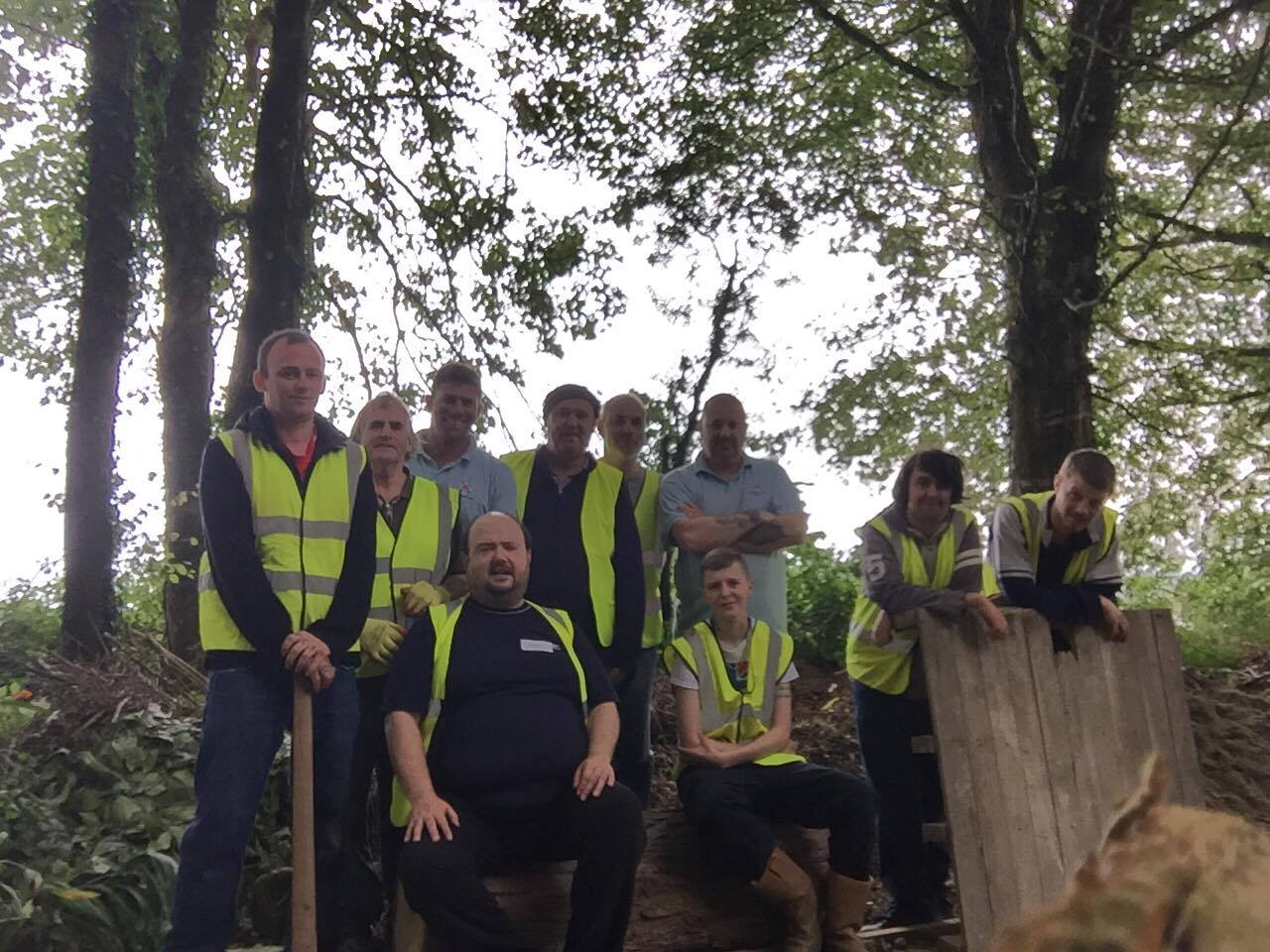 Rebuild And Reach Courses Provide Vital New Family Woodland Area For Dementia Nursing Home