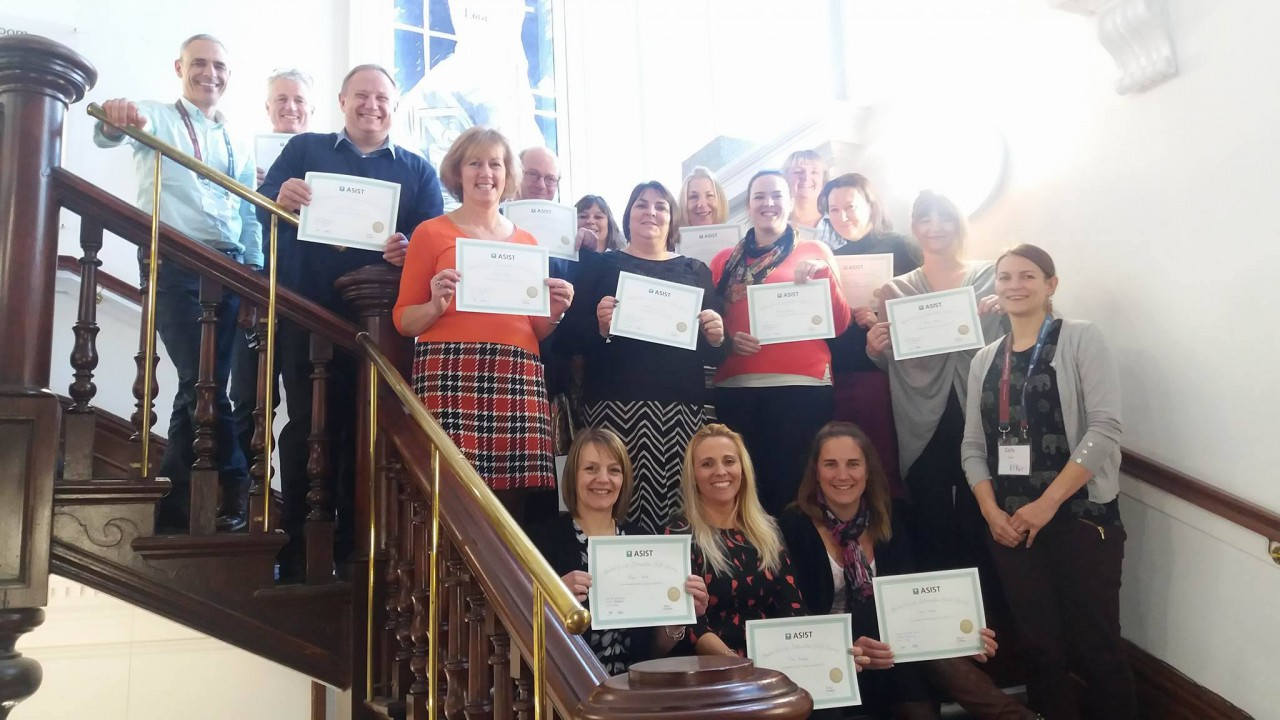2017 Suicide Prevention Training Course Successfully Completed By Rebuild Instructors